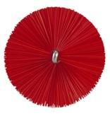 Vikan Vikan Pijpenborstel met handvat, 40 mm, medium, rood