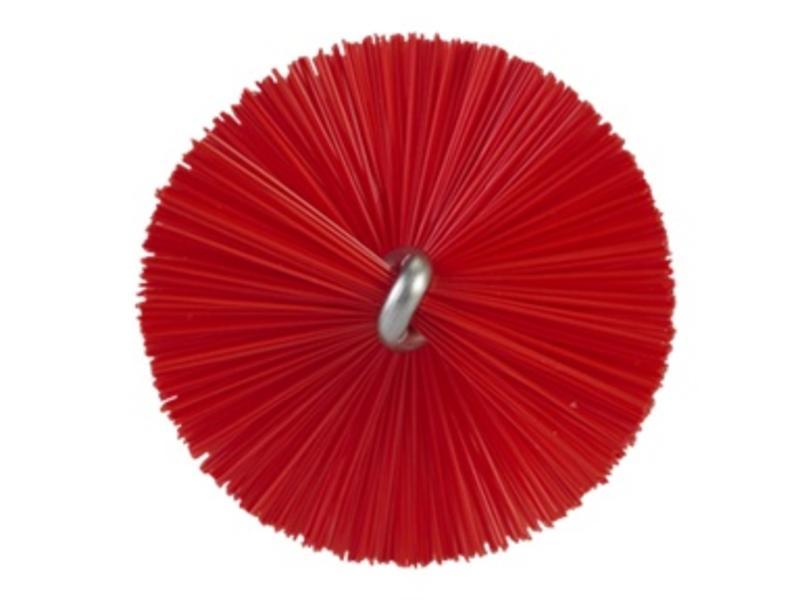 Vikan Vikan Pijpenborstel met handvat, 40 mm, hard, rood