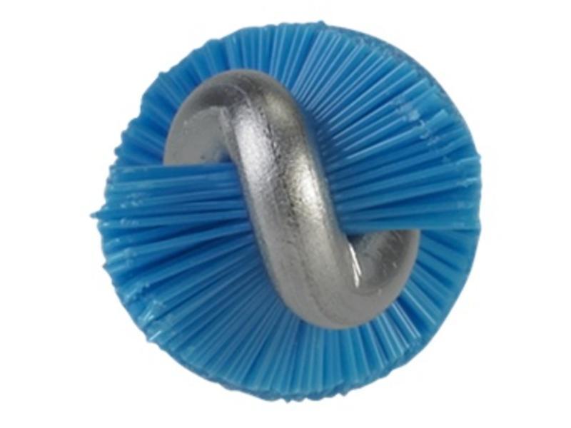 Vikan Vikan Pijpenborstel met handvat, 10 mm, hard, blauw