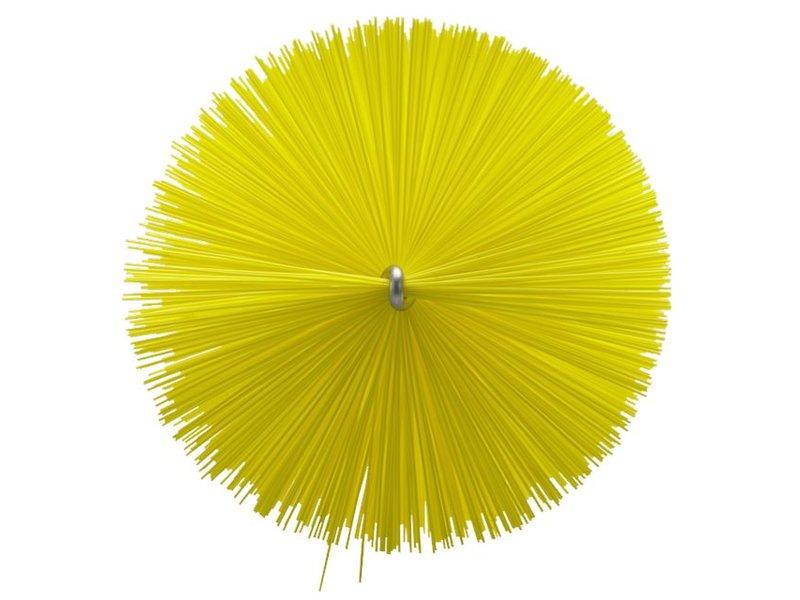 Vikan Vikan Pijpenborstel Ø90x200mm, Medium, geel
