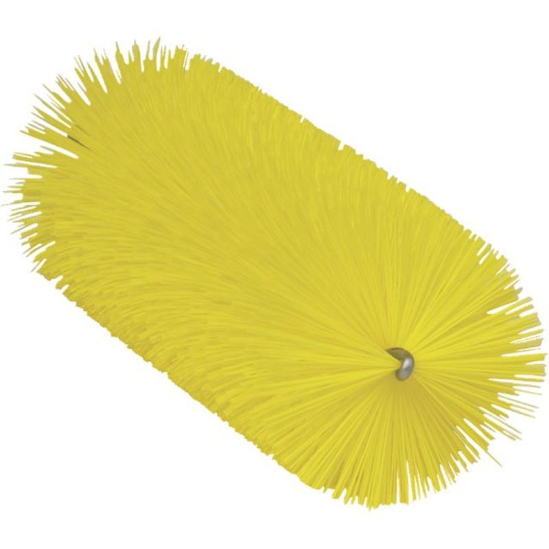 Vikan Pijpenborstel Ø60x200mm, Medium, geel