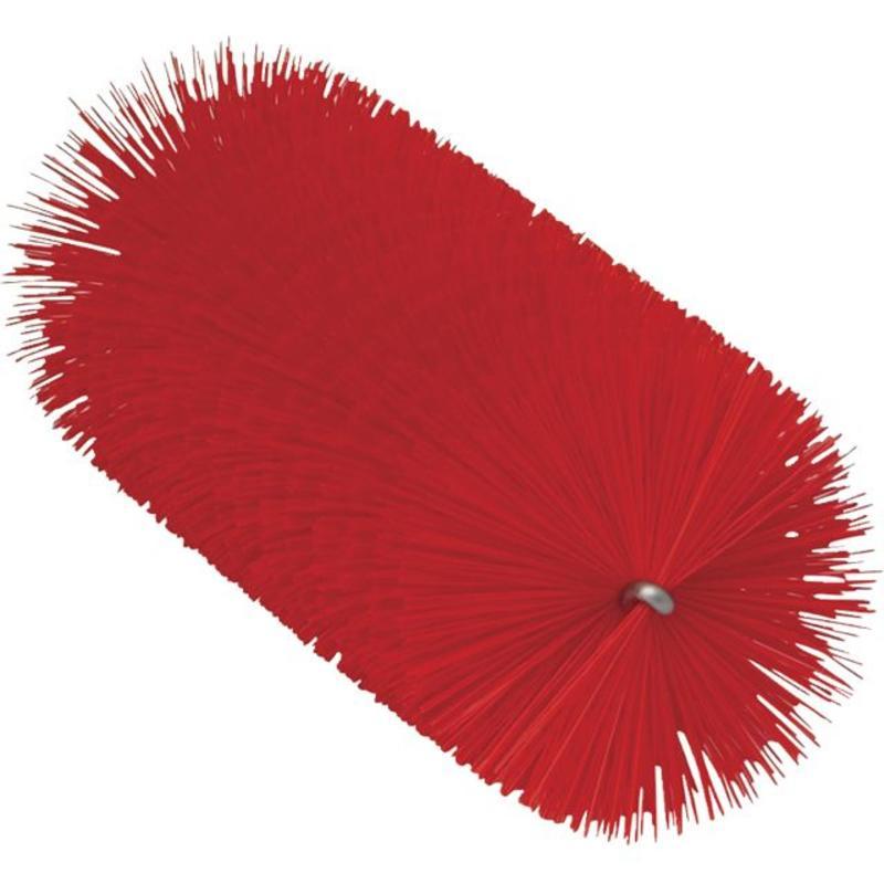 Vikan Pijpenborstel Ø60x200mm, Medium, rood