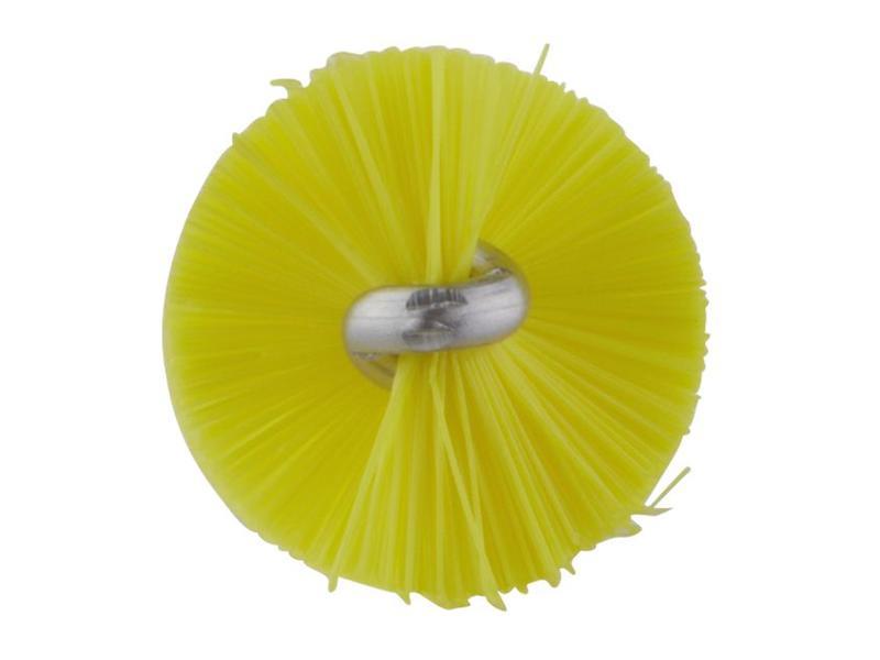 Vikan Vikan Pijpenborstel Ø20x200mm, Medium, geel