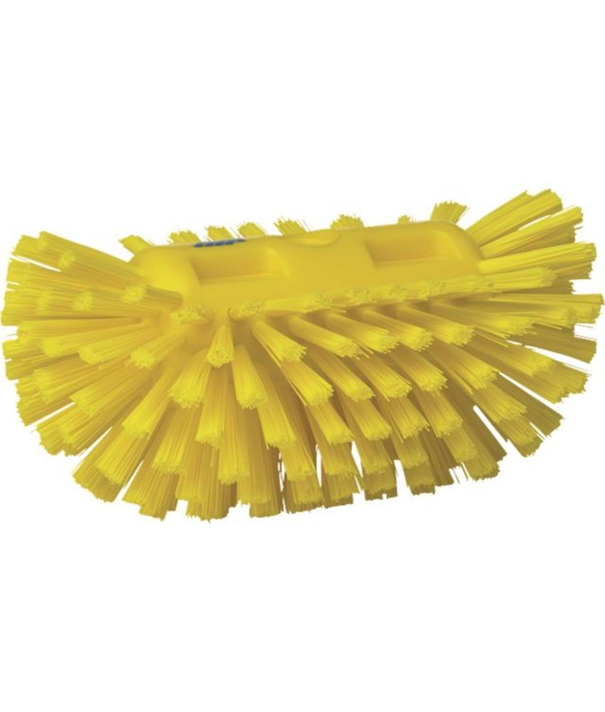 Vikan, Harde tankborstel, 205x130x100mm, geel