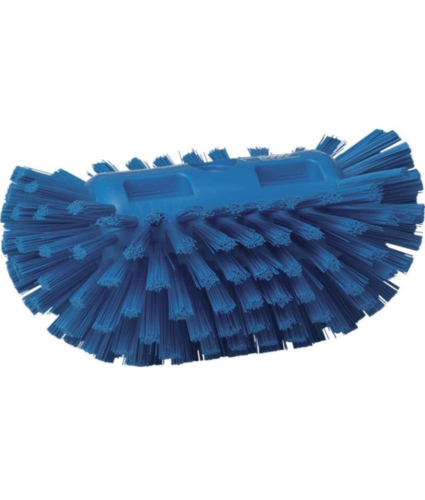 Vikan, Harde tankborstel, 205x130x100mm, blauw