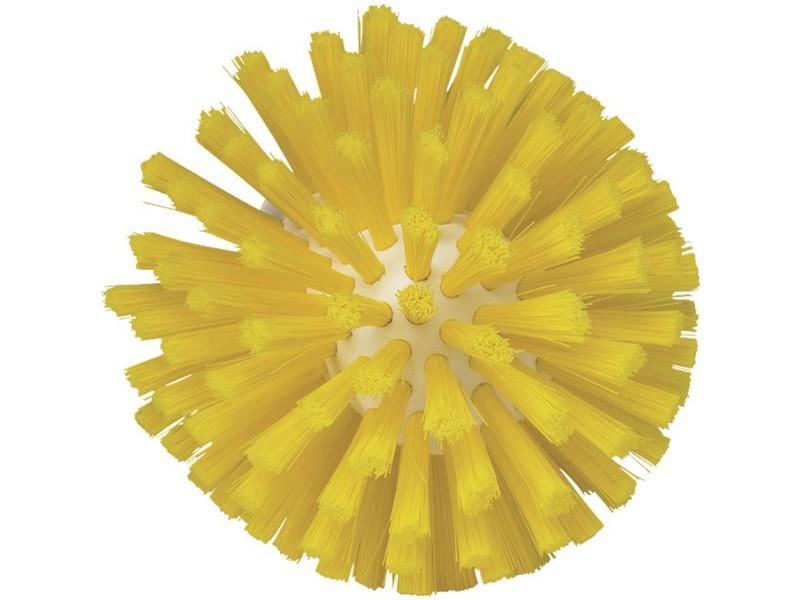 Vikan Vikan, Wormhuisborstelkop, medium Ø135x130mm, geel