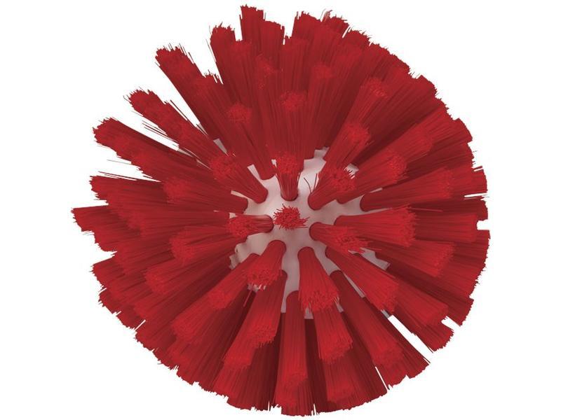 Vikan Vikan, Wormhuisborstelkop, medium Ø135x130mm, rood
