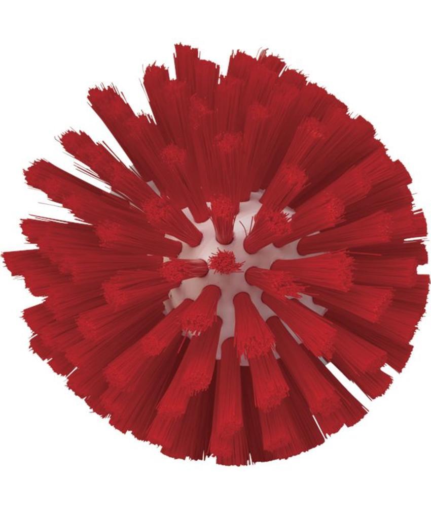 Vikan, Wormhuisborstelkop, medium Ø135x130mm, rood