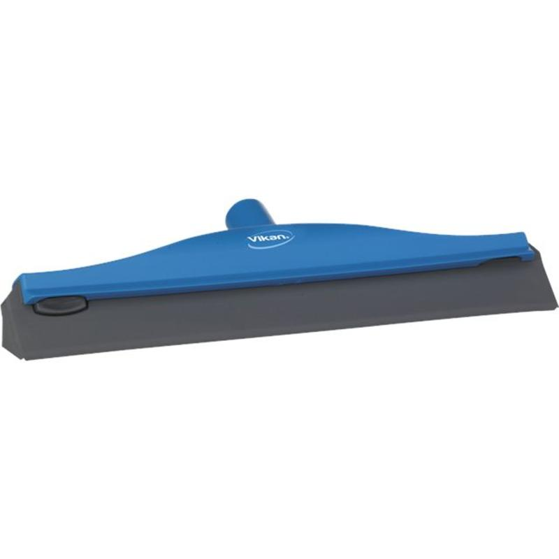 Vikan, Condenstrekker, stevig rubber, 40cm, blauw