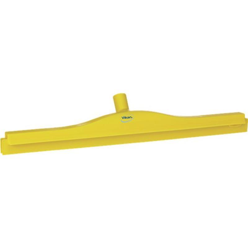 Vikan, Full colour hygiëne vloertrekker, flexibele nek, 60cm, geel