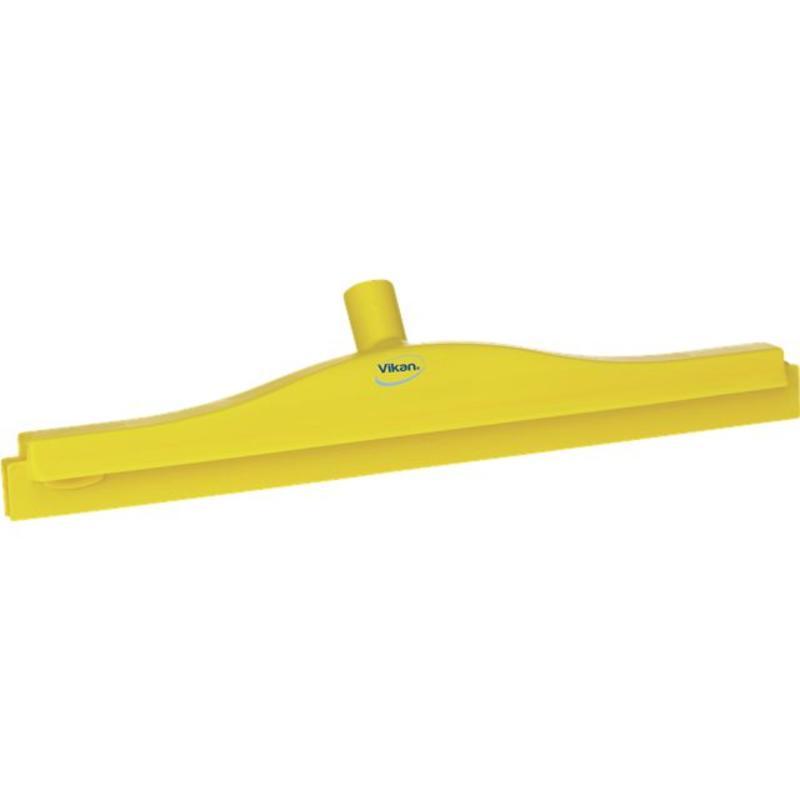 Vikan, Full colour hygiëne vloertrekker, flexibele nek, 50cm, geel