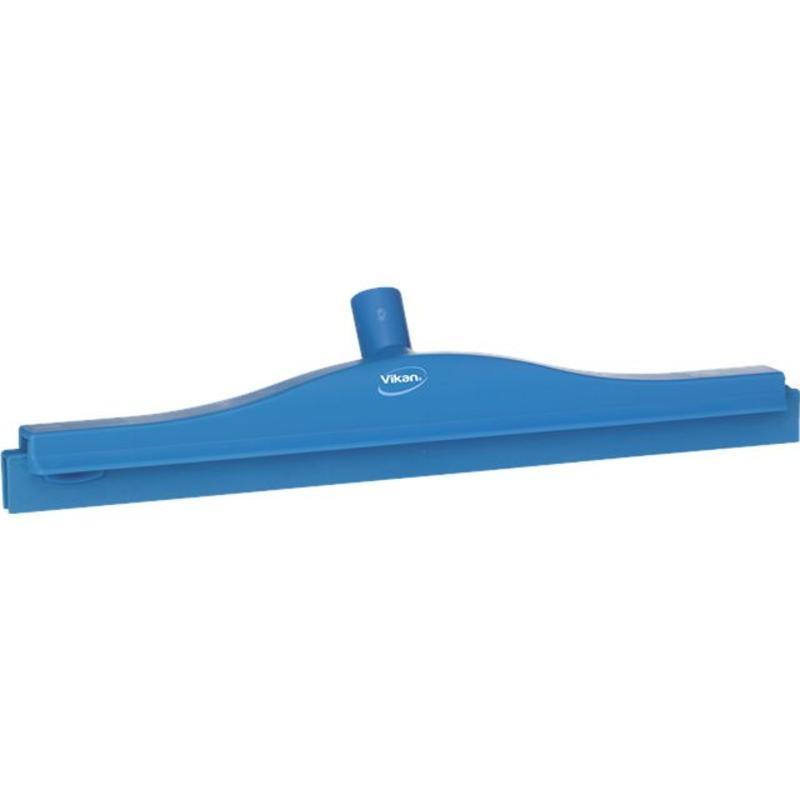 Vikan, Full colour hygiëne vloertrekker, flexibele nek, 50cm, blauw