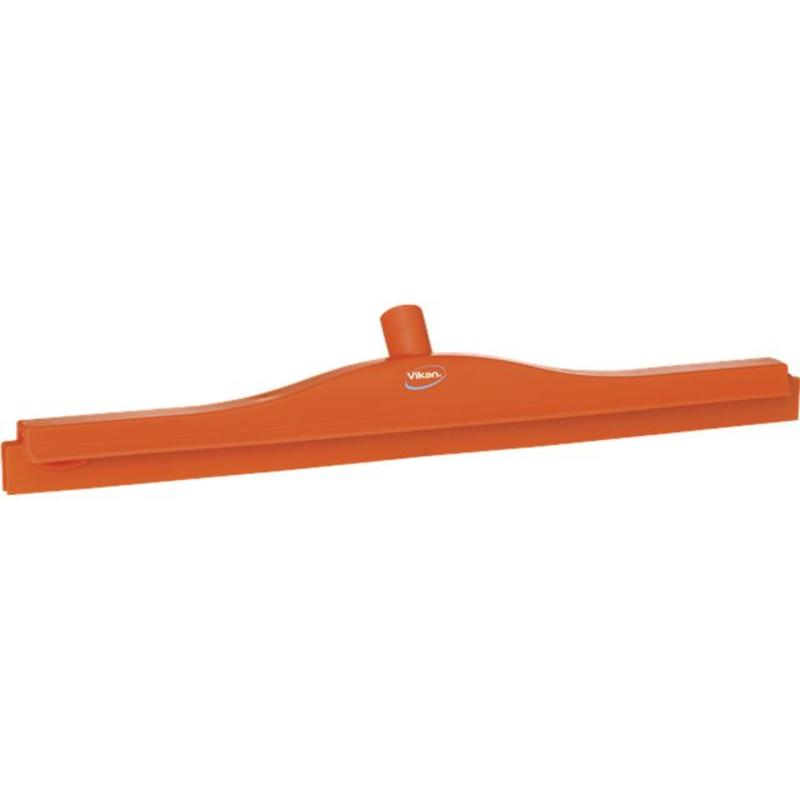 Vikan, Full colour hygiëne vloertrekker, vaste nek, 60 cm breed, oranje