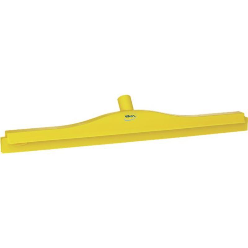 Vikan, Full colour hygiëne vloertrekker, vaste nek, 60 cm breed, geel
