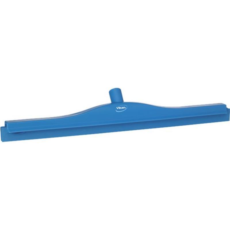 Vikan, Full colour hygiëne vloertrekker, vaste nek, 60 cm breed, blauw