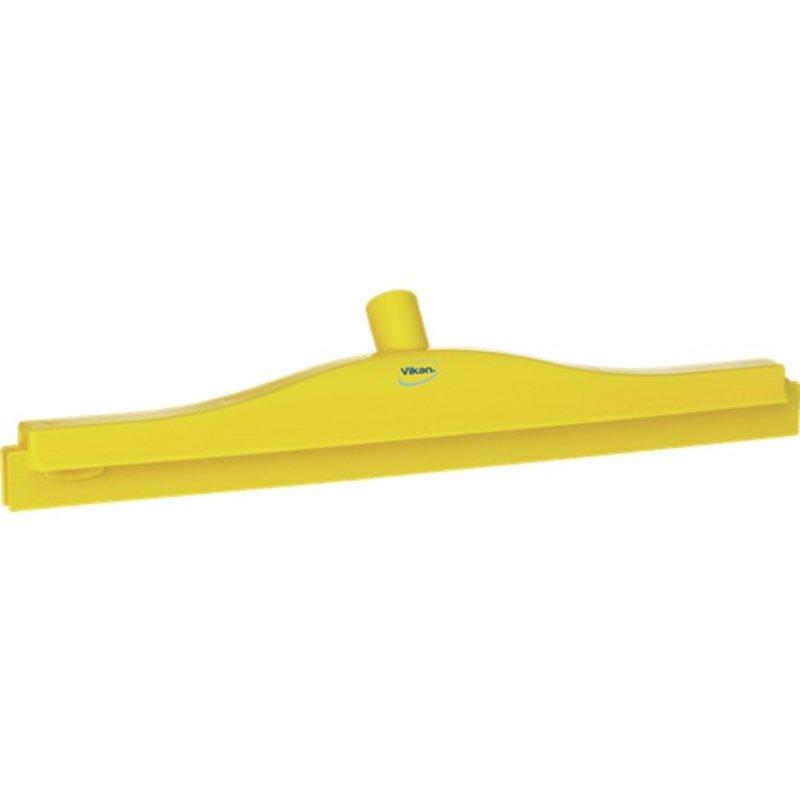 Vikan, Full colour hygiëne vloertrekker, vaste nek,50 cm breed, geel