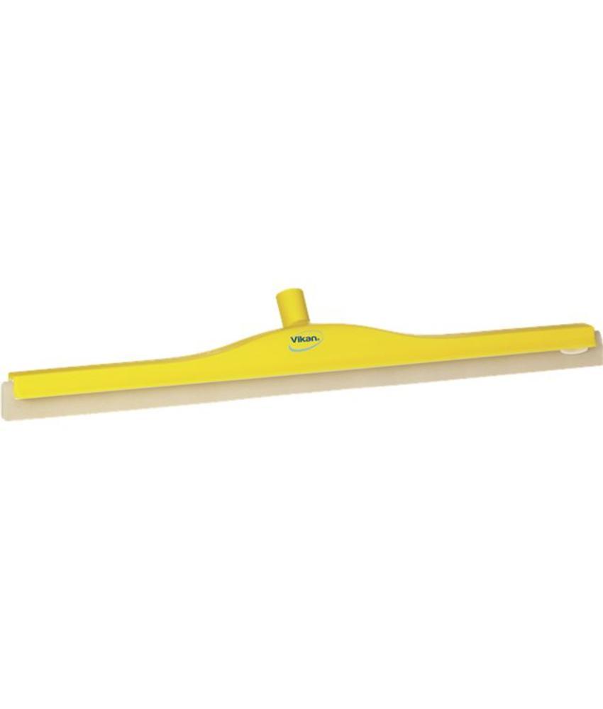 Vikan, Klassieke vloertrekker, flexibele nek, 70cm geel