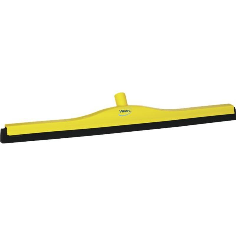 Vikan, Klassieke vloertrekker, vaste nek, 70cm, geel
