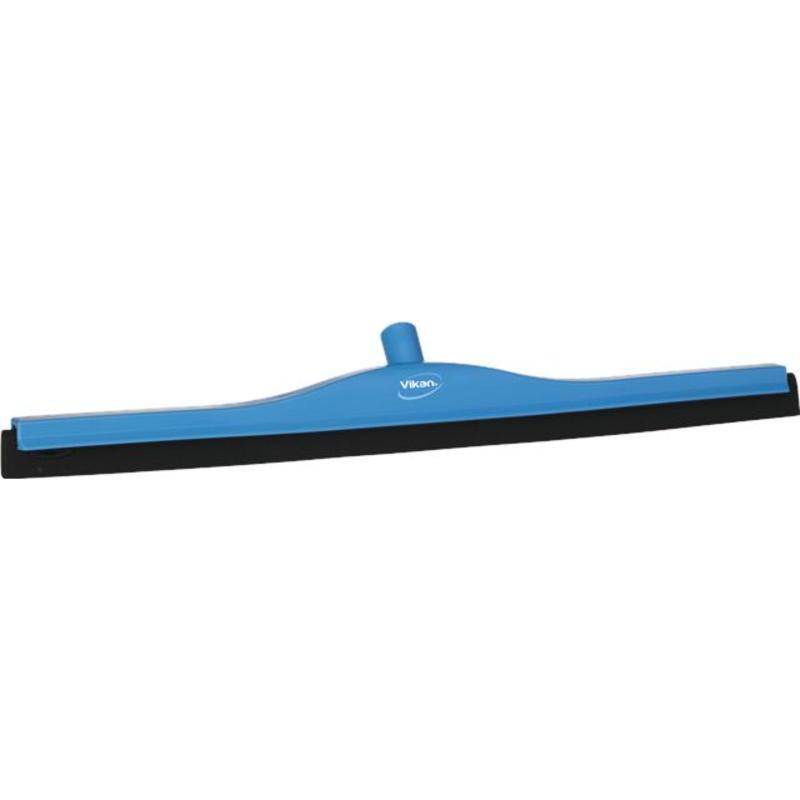 Vikan, Klassieke vloertrekker, vaste nek, 70cm, blauw