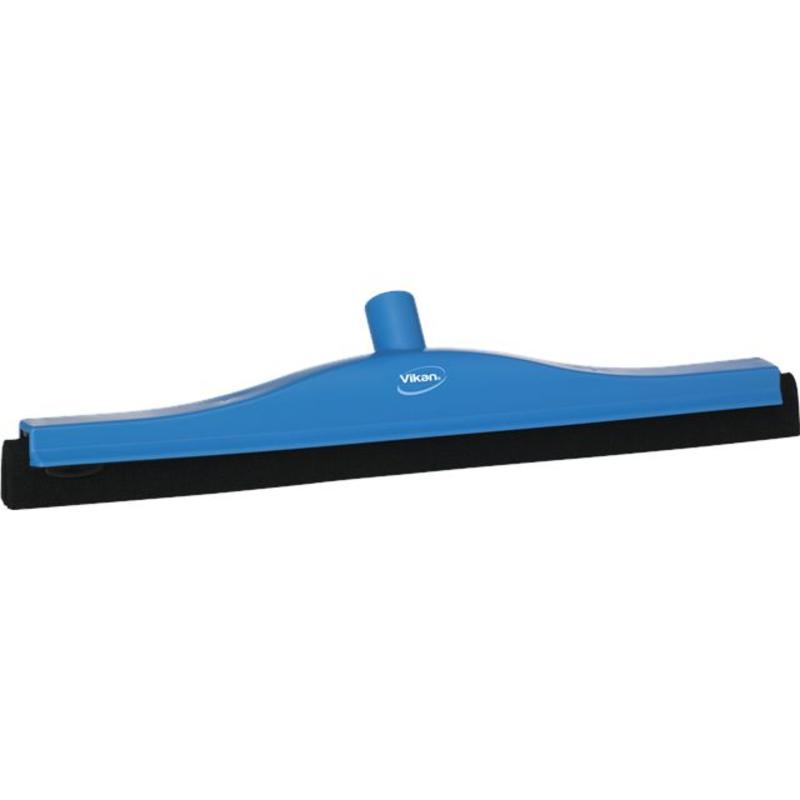 Vikan, Klassieke vloertrekker, vaste nek, 50cm, blauw