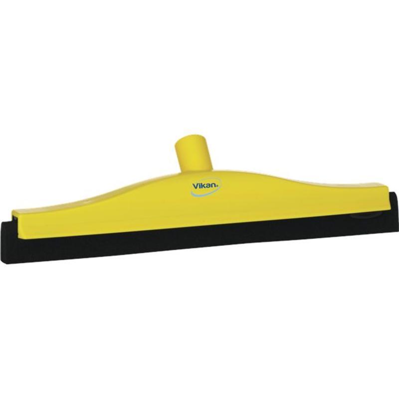 Vikan, Klassieke vloertrekker, vaste nek, 40cm, geel