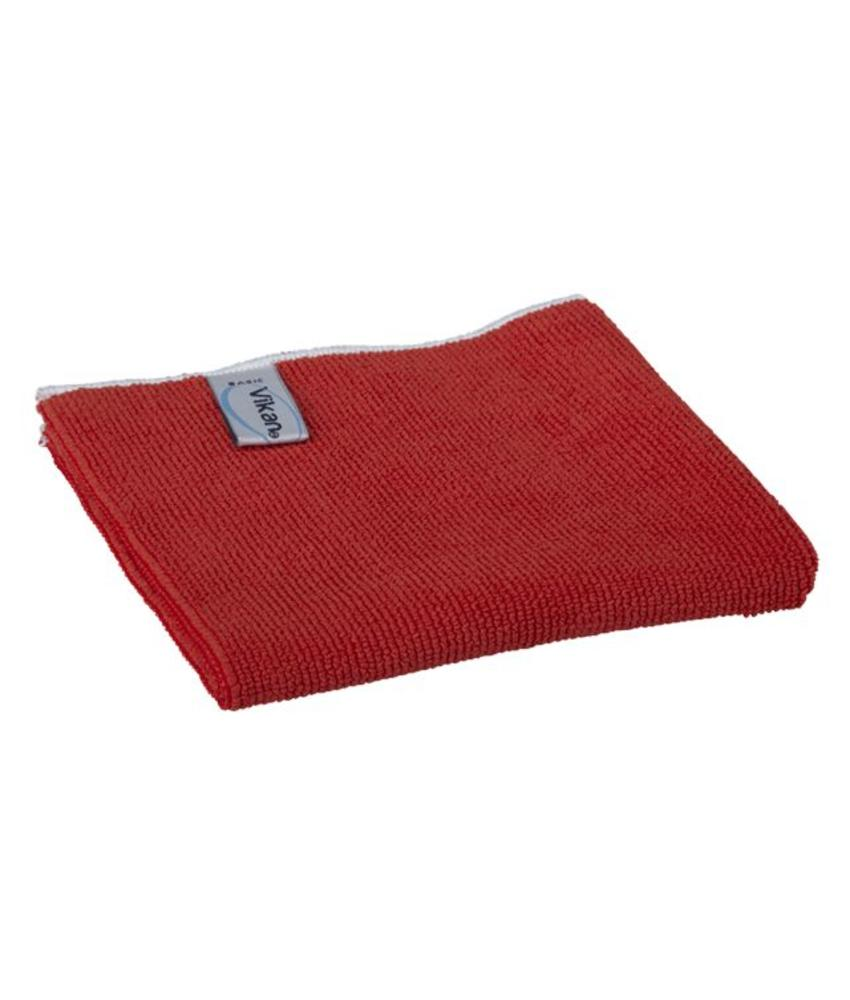 Vikan, Microvezeldoek BASIC 32, 320x320mm, rood
