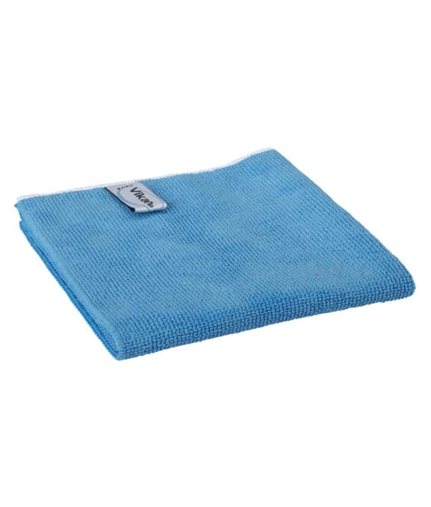 Vikan, Microvezeldoek BASIC 32, 320x320mm, blauw