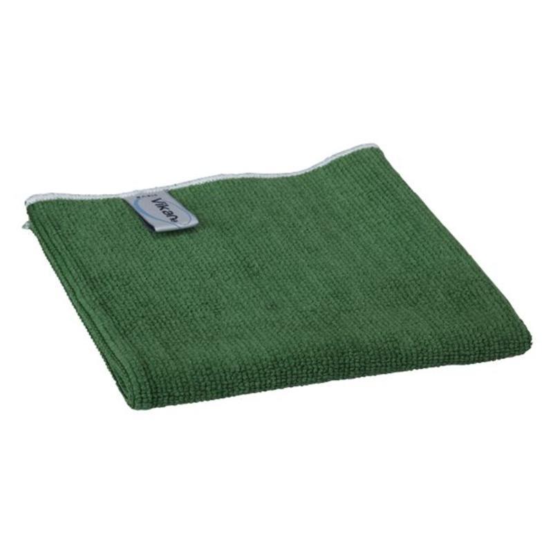 Vikan, Microvezeldoek BASIC 32, 320x320mm, groen