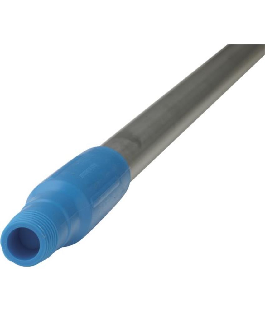 Vikan, Ergonomische aluminium steel 130cm, blauw