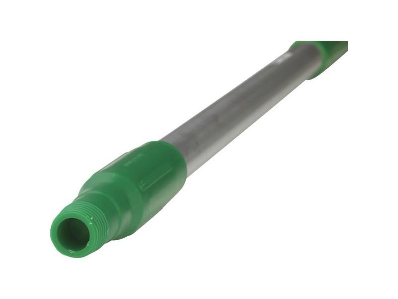 Vikan Vikan, Ergonomische aluminium steel 130cm, groen