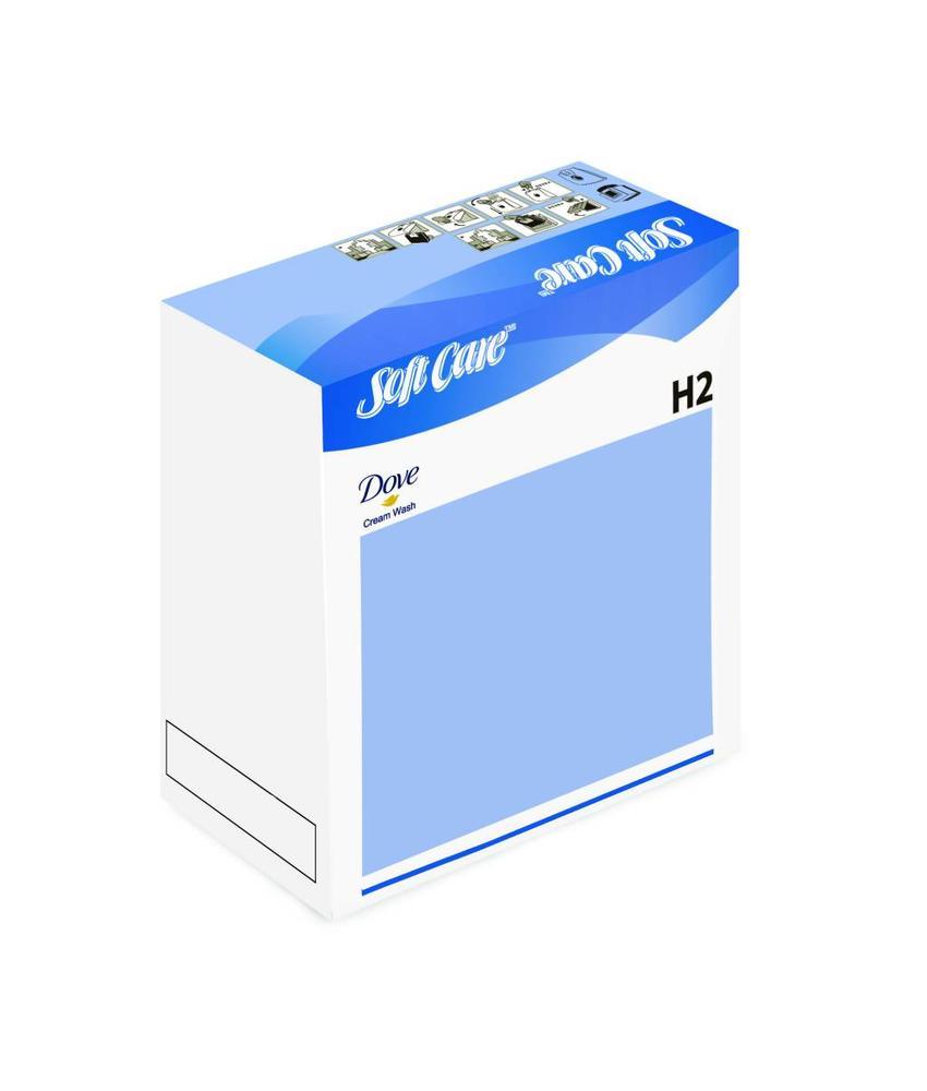 Soft Care Dove Cream Wash H2 - 800ml
