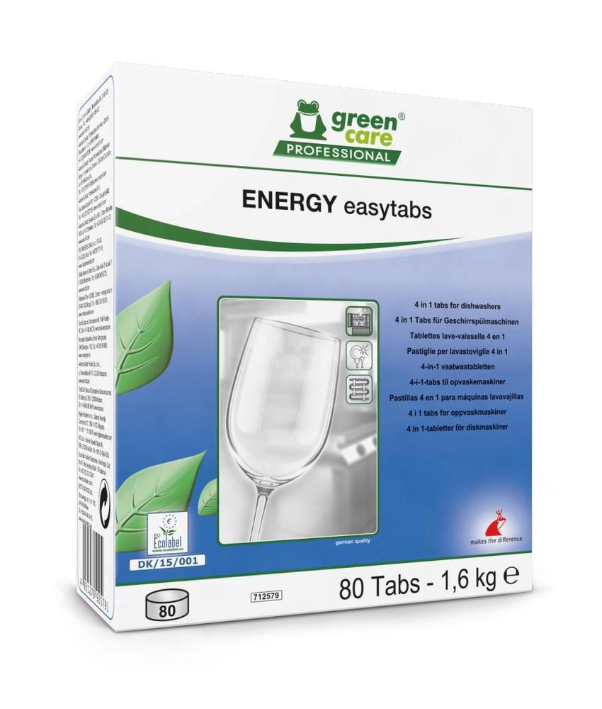 ENERGY easytabs - 80 tabs