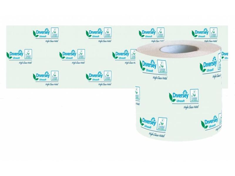 Johnson Diversey Toiletpapier Hotel Ultrasoft Puur Cellulose (3 laags)