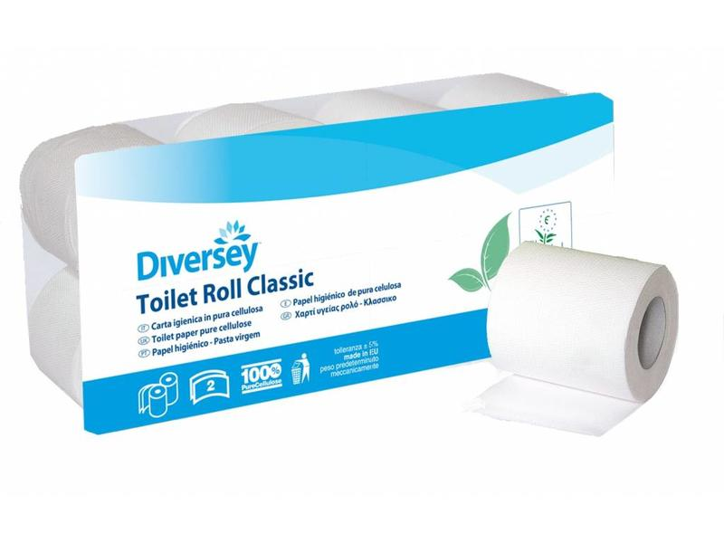 Johnson Diversey Toiletpapier Classic Puur Cellulose (2 laags)