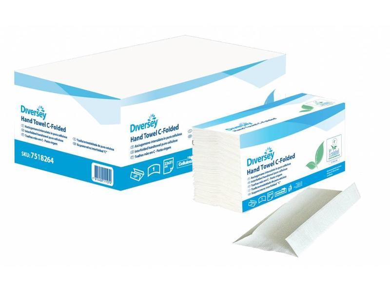 Johnson Diversey Vouwhanddoek Cellulose C-Gevouwen (1 laags)