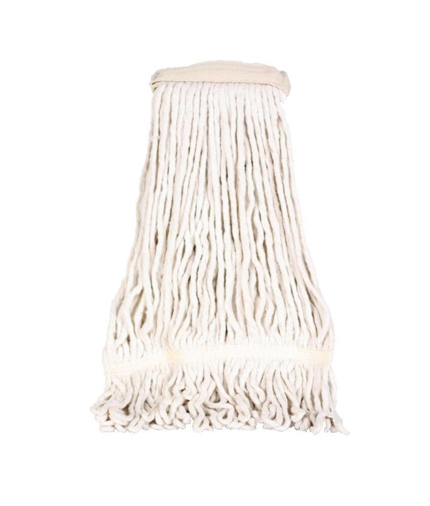 Strengenmop katoen met band - 350 gram