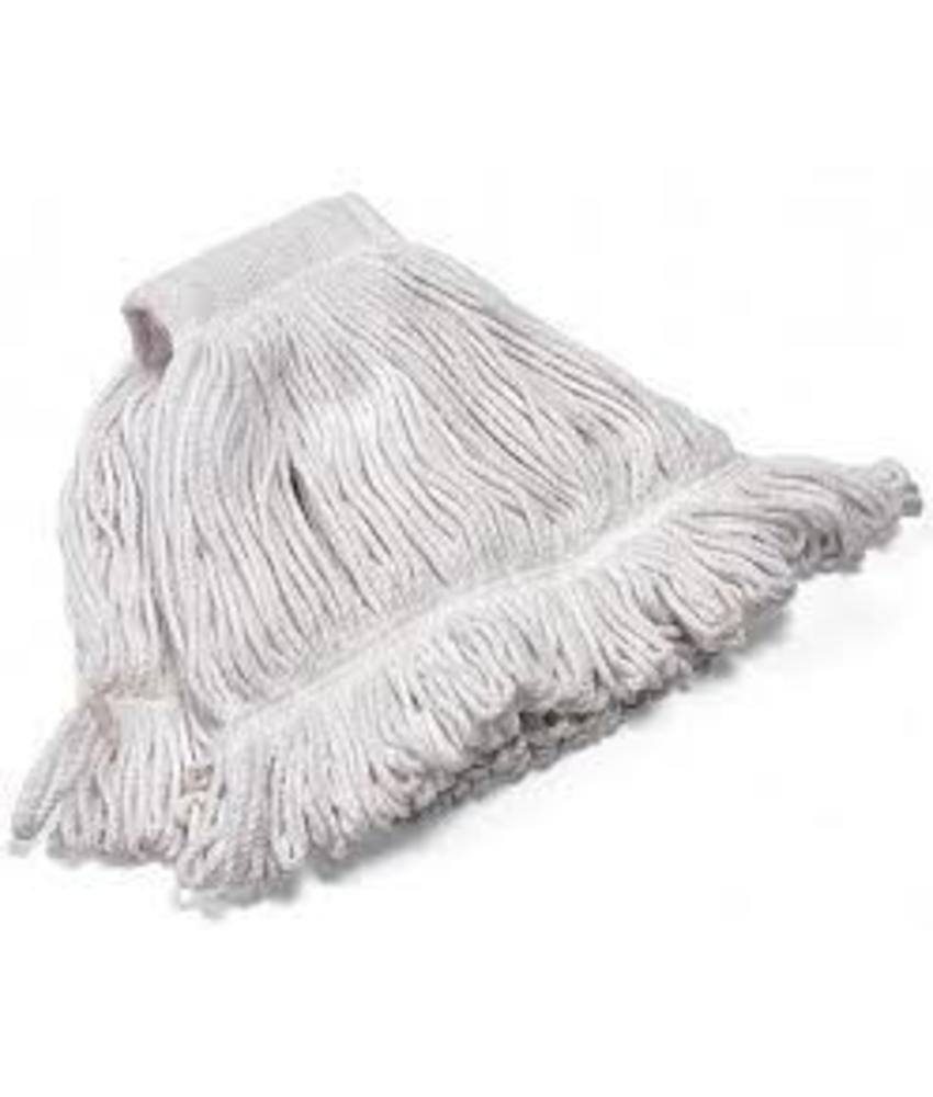 Strengenmop katoen met band gesneden - 350 gram