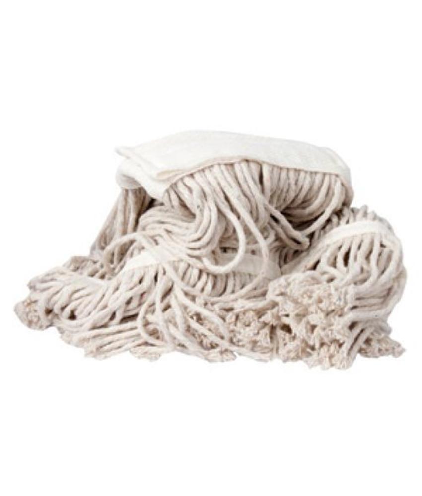 Strengenmop katoen PY met band - 450 gram