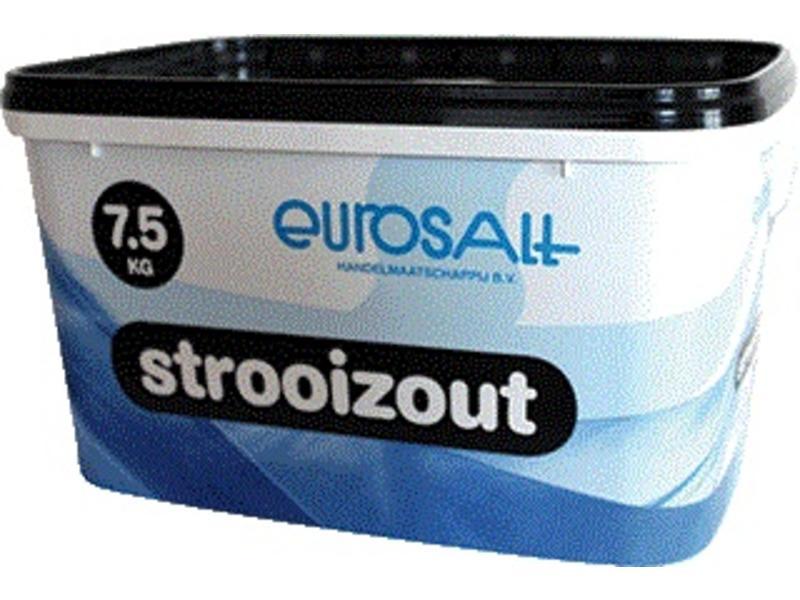 Eigen merk Strooizout emmer - 7,5 kg
