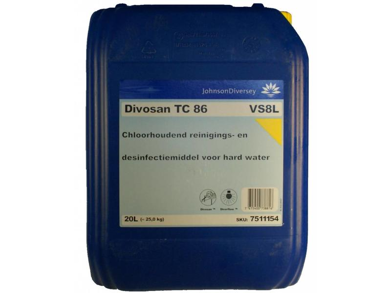 Johnson Diversey DI Divosan TC 86 VS8L 20L NL