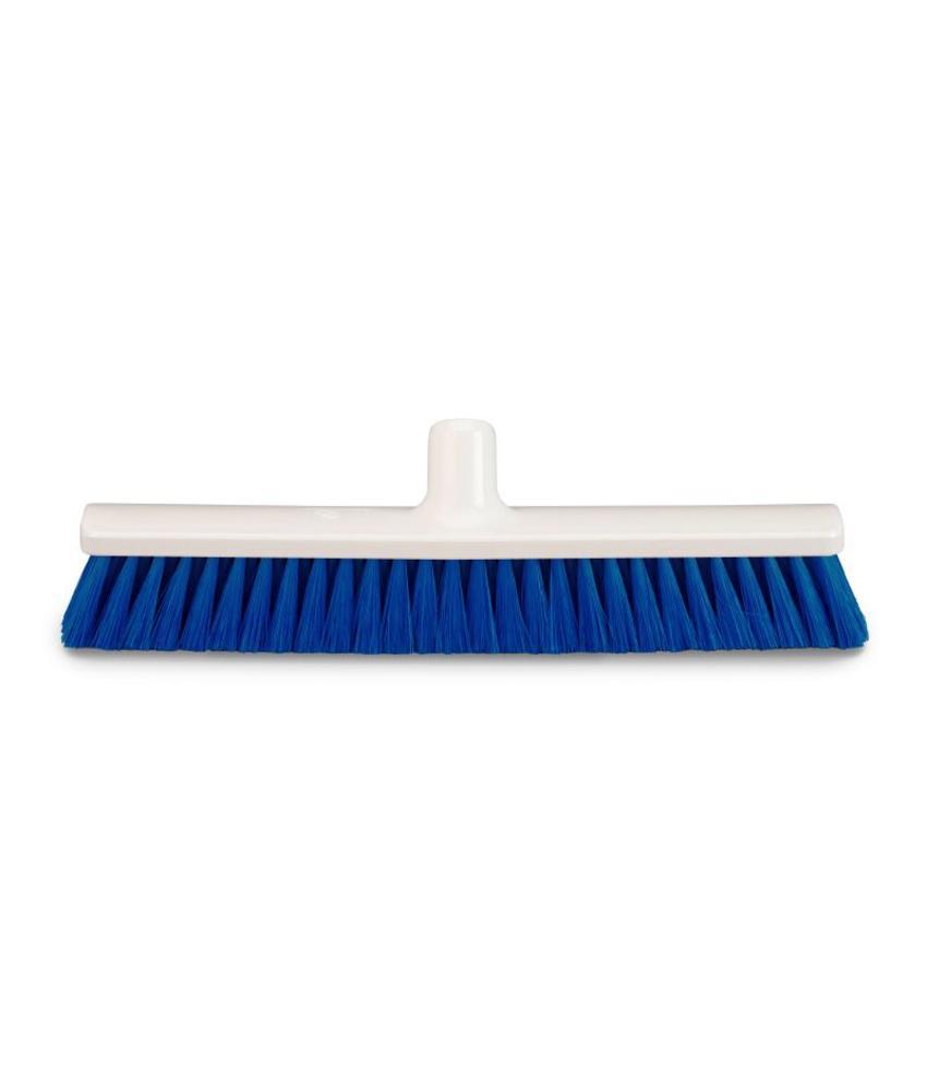 Zaalveger nylon blauw - 50cm