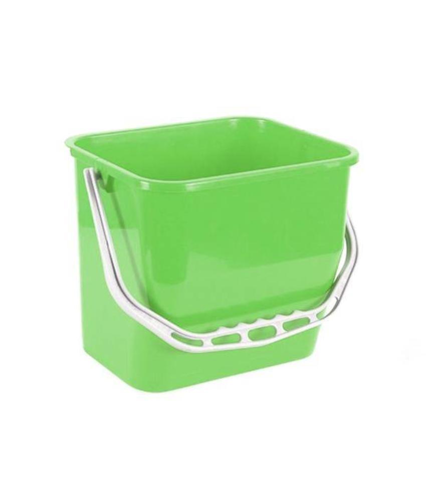 Materiaalwagenemmer groen - 6 liter