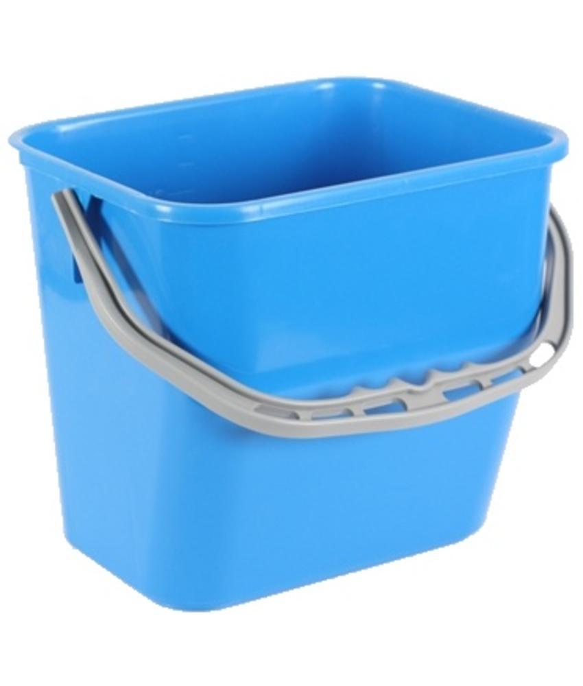 Werkemmer blauw - 12L