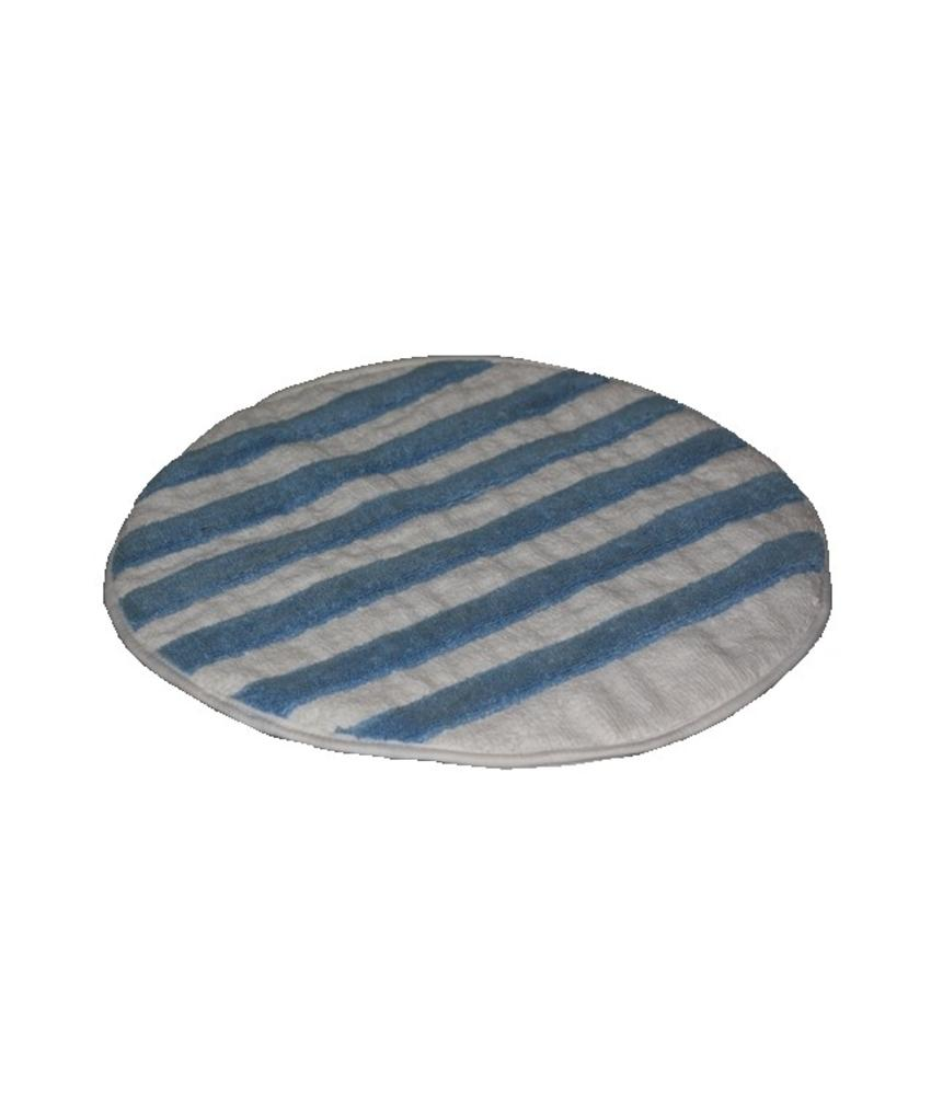 Bonnetpad microvezel/katoen blauw/wit