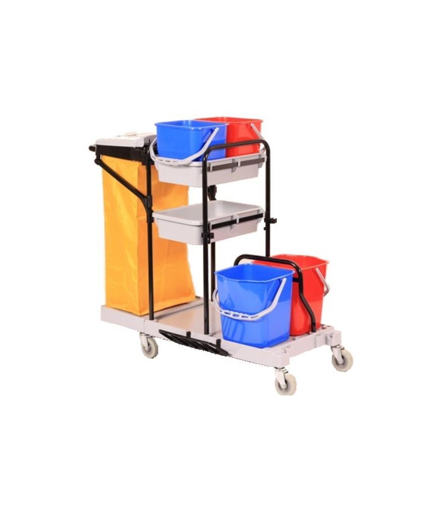 Schoonmaak Materiaalwagen Type Reiniging extra