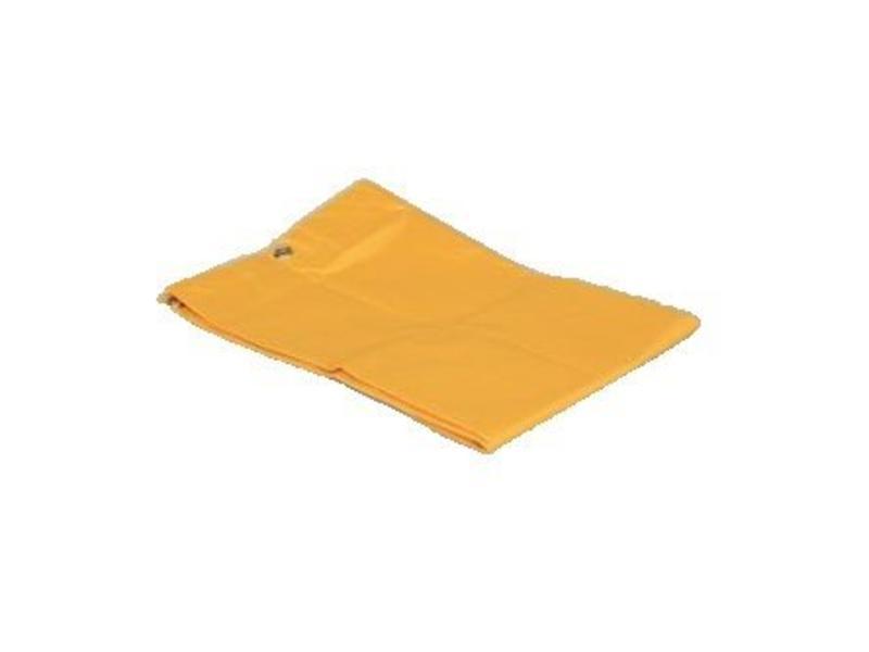 Eigen merk Verzamelzak geel geplastificeerd