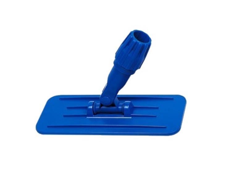 Eigen merk Jumbo padhouder met steel aansluiting blauw