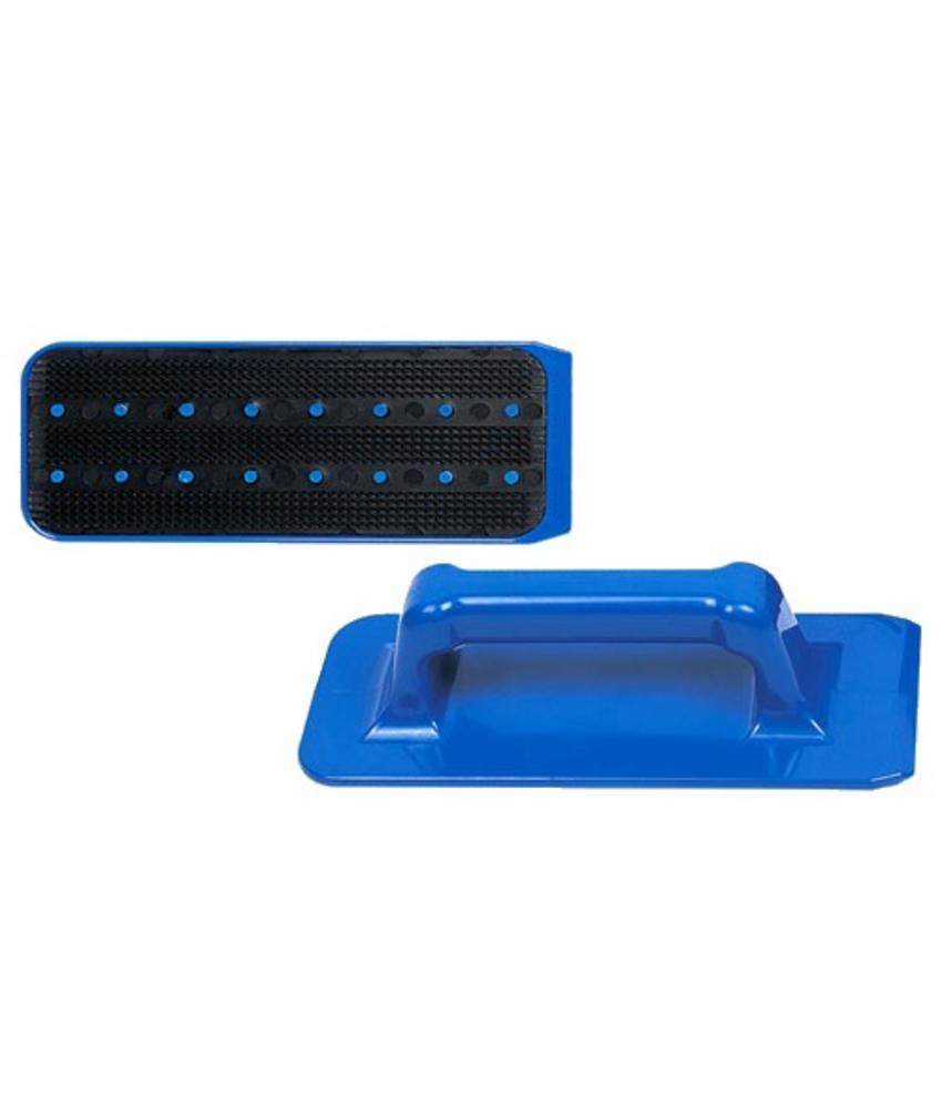 Jumbo padhouder met handgreep blauw