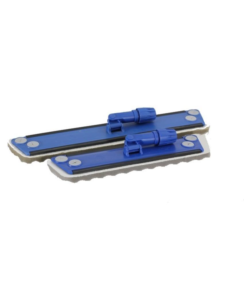 Wisdoekhouder met vaste schuimrubber zool - 40CM