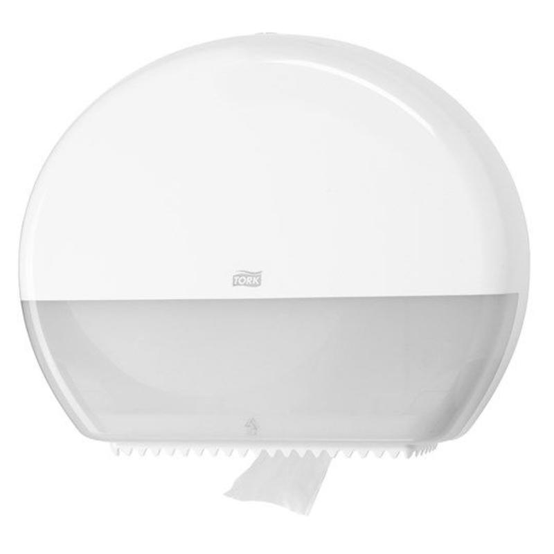 Tork Jumbo Toiletpapier Dispenser Kunststof Wit T1